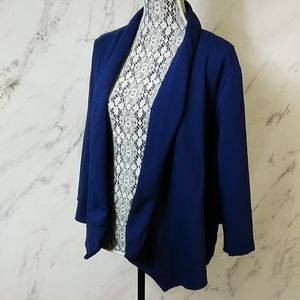 Lane Bryant open jacket